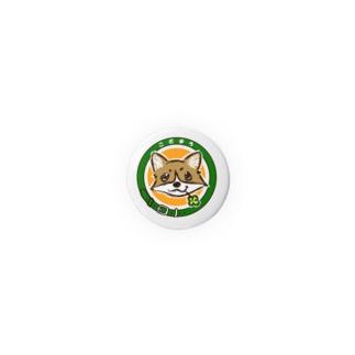 まろマーク_32mm Badges