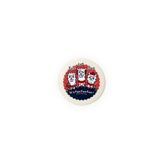 It'FunFunFun【C】32mm缶バッチ用  Badges