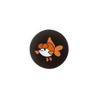 浜錦さんがこっちみてる Badges