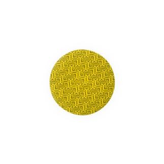 NYORO GRAM yellow 缶バッジ