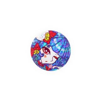 """「百歳」Series * CatGirl""""赤鈴化猫娘""""  Badges"""
