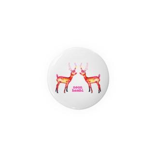 ネオン・バンビ* Badges