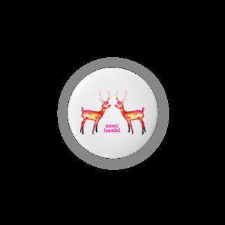 猫山アイス洋品店のネオン・バンビ* Badges