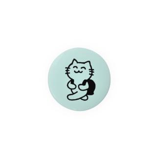 メモちゃん(水色) 缶バッジ