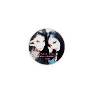 Caiya&Erinaのラブリーミニ缶バッチ☆ラブリーピンク Badges