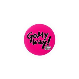 Go My Way! 缶バッジ