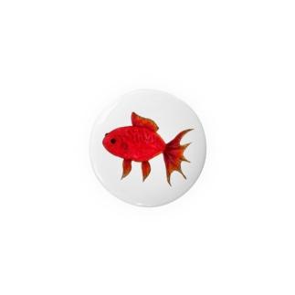 赤い金魚 Badges