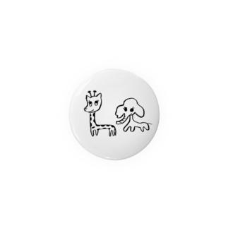 麒麟と象 Badges