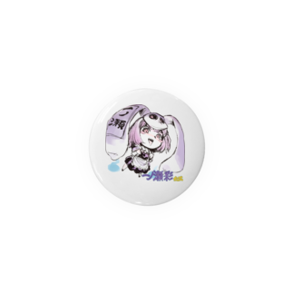 ʚ一ノ瀬 彩 公式 ストアɞの一ノ瀬彩ラフ画タッチちびキャラ【ニコイズム様Design】 Badges
