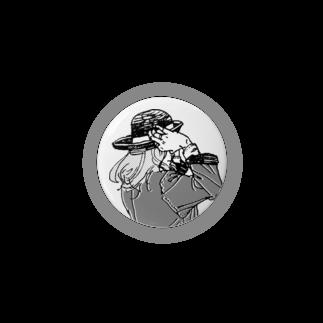 中村香月の帽子をかぶり直す Badges