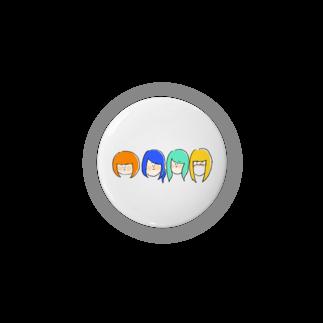 つえりのねこぢた~カラフルver~ Badges