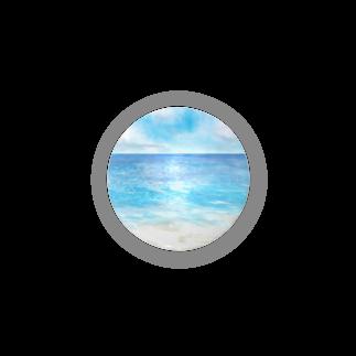 ☆tm3.☆の海辺 缶バッジ