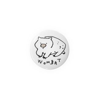 ゆるWOMBAT Badges