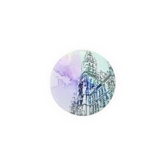 世界の風景:幻想 Marienplatz Badges