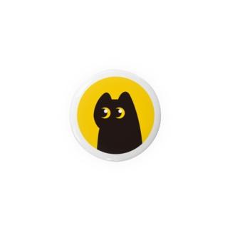 黒ネコ Badges