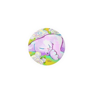 花と猫44 Badges