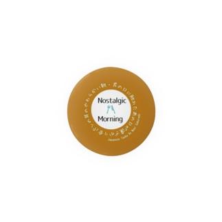 短歌バッジ01─NostalgicMorning Badges