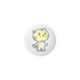 ネコ? トラの子  ガーオ Badges
