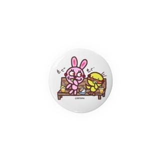 うさぴよ💛サンドイッチ Badges