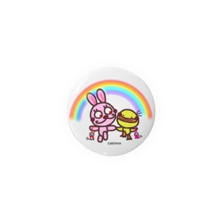 うさぴよ💛雨上がり Badges