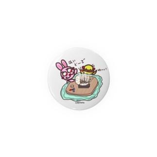 うさぴよ💛お鍋 Badges