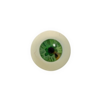 【44mm用】目ン玉ばっぢ (緑) Badges