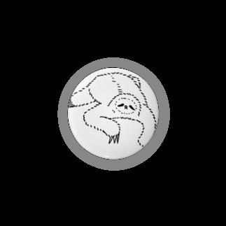 キューカンバー・ガールのsloth なまけもの(w/b) Badges
