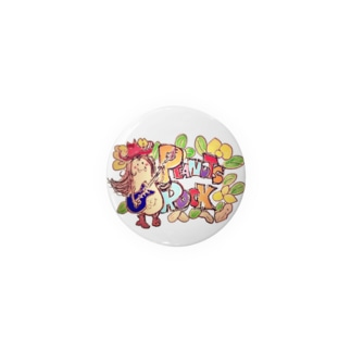 Peanuts Rockちゃん Badges