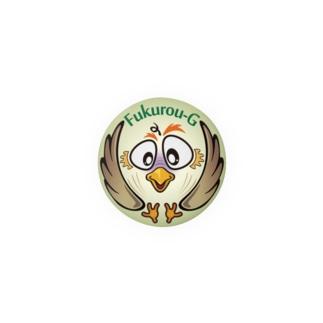 梟丸紋-2 Badges