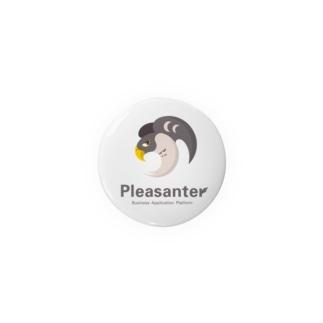 Pleasanter缶バッチ Badges