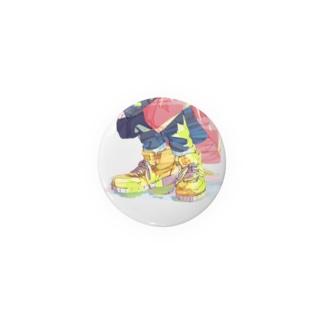 靴っこバッチ1 Badges