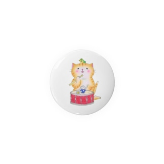 ドラムのスネア猫 Badges