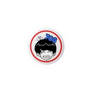 708くん Badges