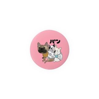 パンちゃん☆バッジ Badges