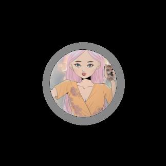 TERADA のSelfy girl Badges