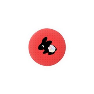 ルンルン🎵ウサギ Badges