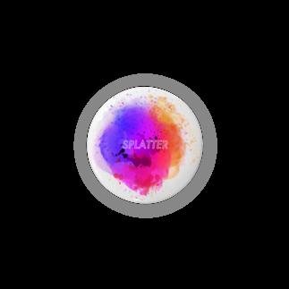 とりぷしんハウスのSPLATTER Badges
