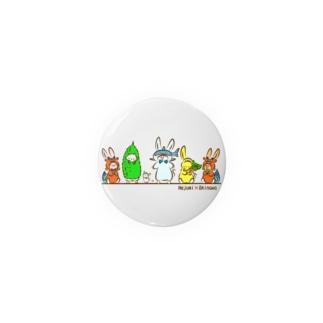 ご当地ねじゅみ 沖縄 Badges