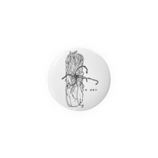 Chiloschista(キロスキスタ) ボタニカルアート Badges