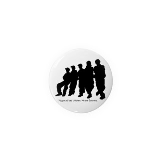 Goonies 影黒44mm Badges