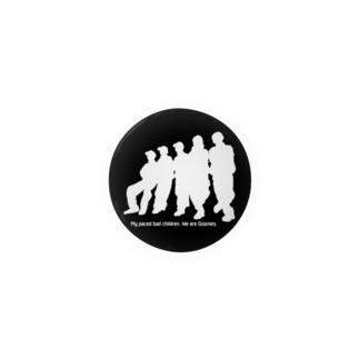 Goonies 影白44mm Badges