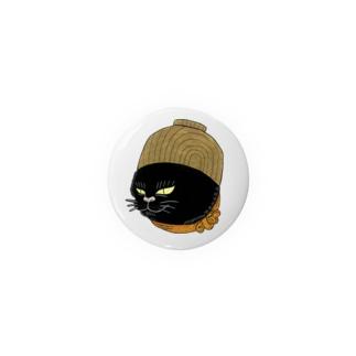 猫かぶりお椀 Badges