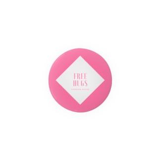 FREE HUGS(フリーハグ)【ダイヤ】 Badges