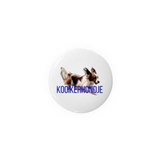 Kooikerhondje 44mm Badges