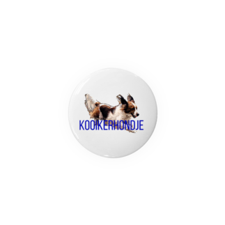 roigillesのKooikerhondje 44mm Badges