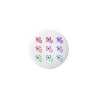 achi no design shop のかじられたコアラぱんcolorver. Badges