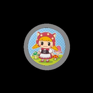 ゆめのみせの水玉ネコ耳ずきんちゃんとおおかみちゃん Badges