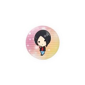 ヨルモノちびバッジ・くーちゃん Badges