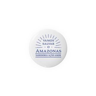Vamos salvar o Amazonasトートバッグ(背景あり) Badges