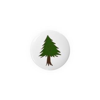 針葉樹。 Badges